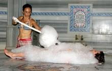 Hot soapy massage