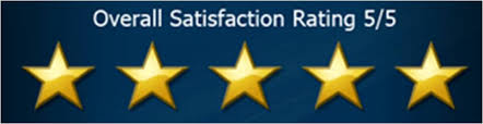 Five star ratings given for great service to Archaeologous