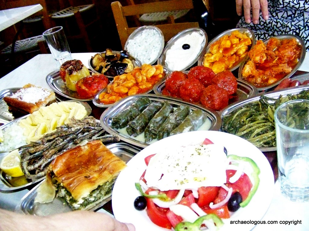 About athens by archaeologous for Athena mediterranean cuisine